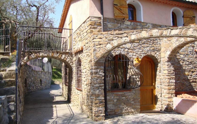 Location de vacances - Villa à Breil-sur-Roya - entrée