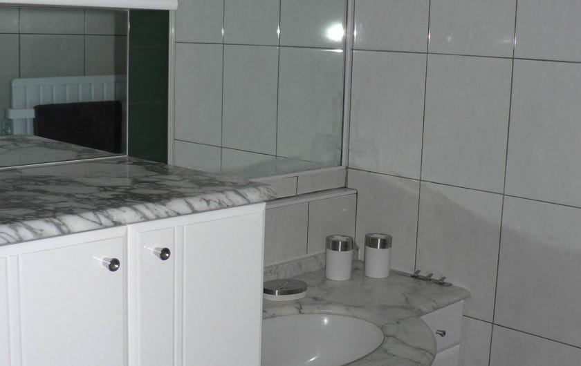 Location de vacances - Gîte à Ribeauville - Salle de bain