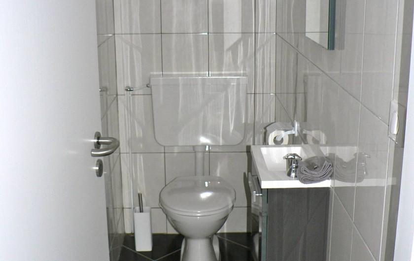 Location de vacances - Gîte à Ribeauville - Toilettes
