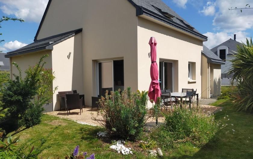 Location de vacances - Maison - Villa à Plouharnel - mezzanine - dressing