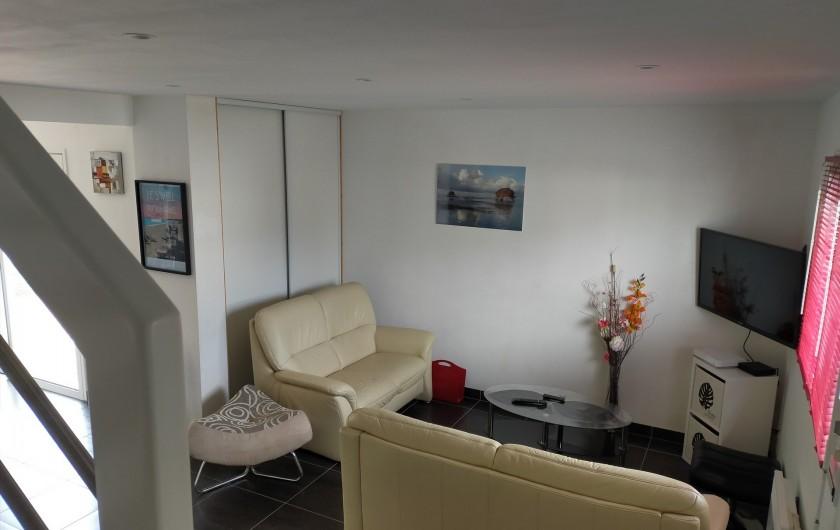 Location de vacances - Maison - Villa à Plouharnel - 2 chambres lit 140 commodes de rangement