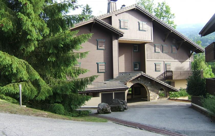 Location de vacances - Appartement à Saint-Gervais-les-Bains - Entrée