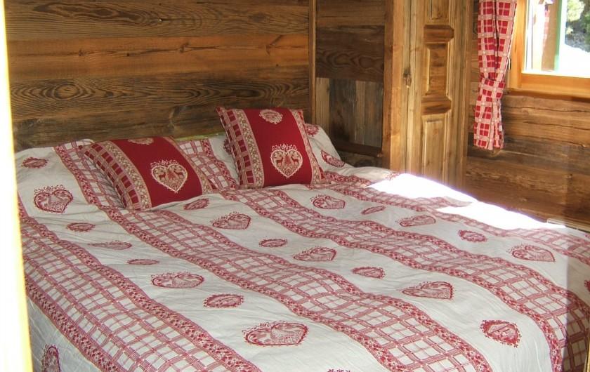 Location de vacances - Appartement à Saint-Gervais-les-Bains - Chambre1 lit en 160