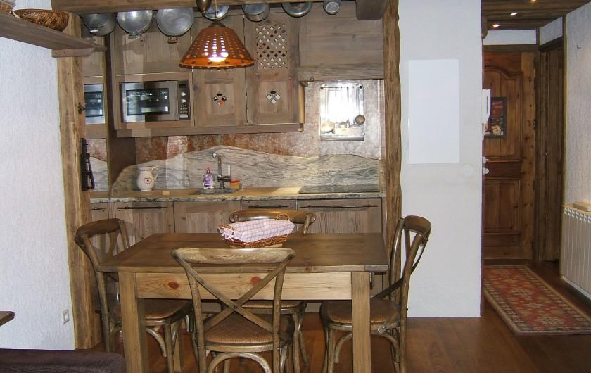 Location de vacances - Appartement à Saint-Gervais-les-Bains - Coin cuisine
