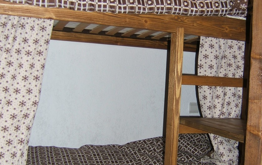 Location de vacances - Appartement à Saint-Gervais-les-Bains - Coin cabine fermé