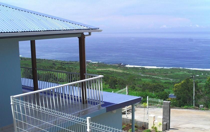 Location de vacances - Villa à Piton Saint-Leu - Terrasse couverte