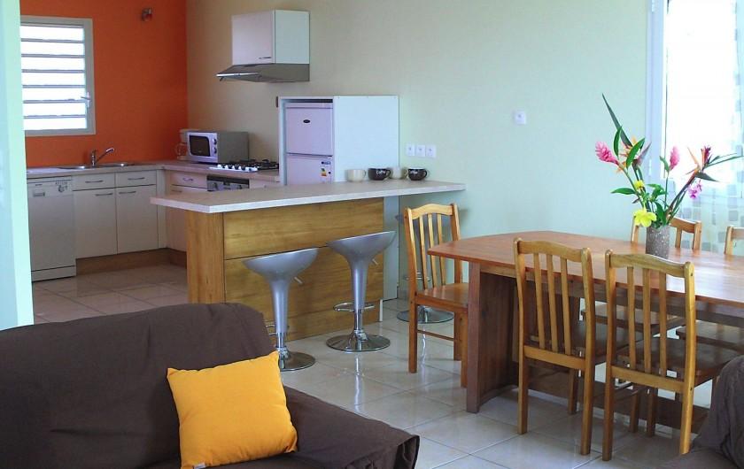 Location de vacances - Villa à Piton Saint-Leu - Ensemble séjour