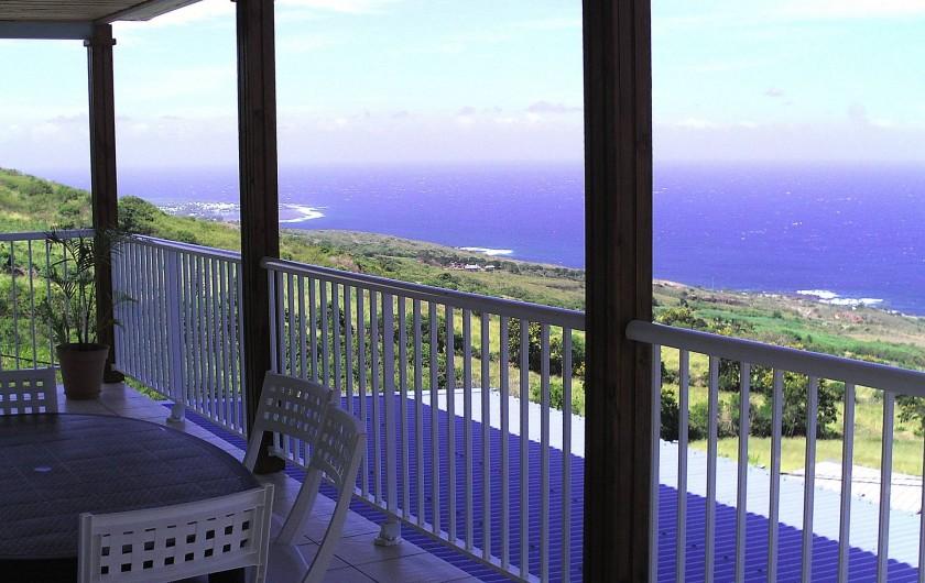 Location de vacances - Villa à Piton Saint-Leu - Vue de la terrasse