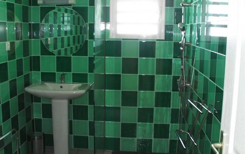 Location de vacances - Villa à Piton Saint-Leu - Salle de bain