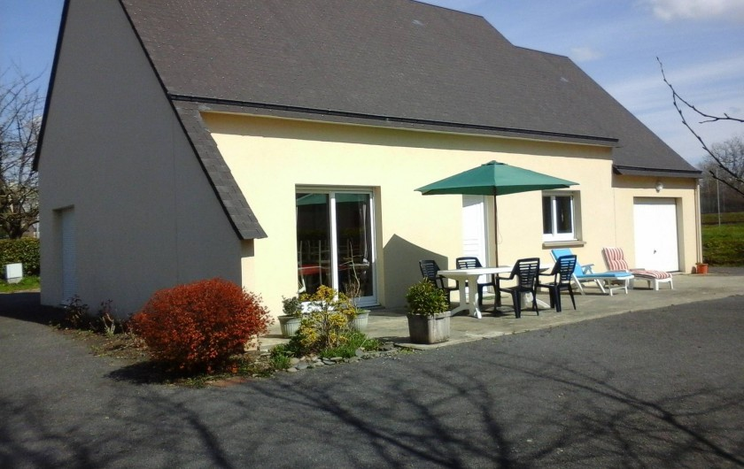 Location de vacances - Maison - Villa à Carolles - façade
