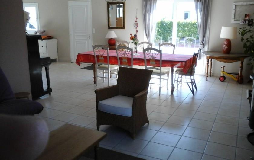Location de vacances - Maison - Villa à Carolles - séjour