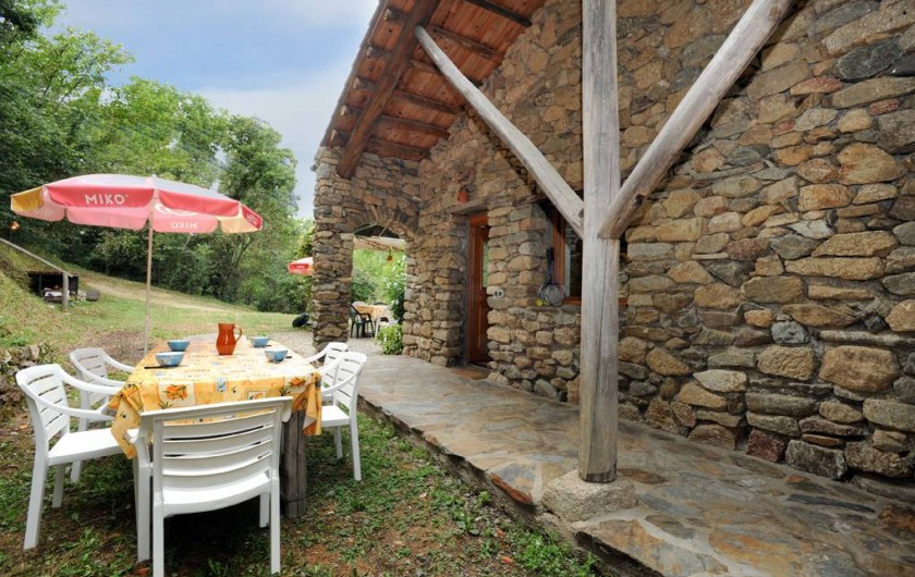 Location de vacances - Mas à Arles-sur-Tech - terrasse