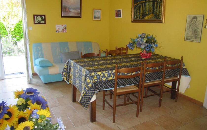 Location de vacances - Villa à Soulac-sur-Mer - salon