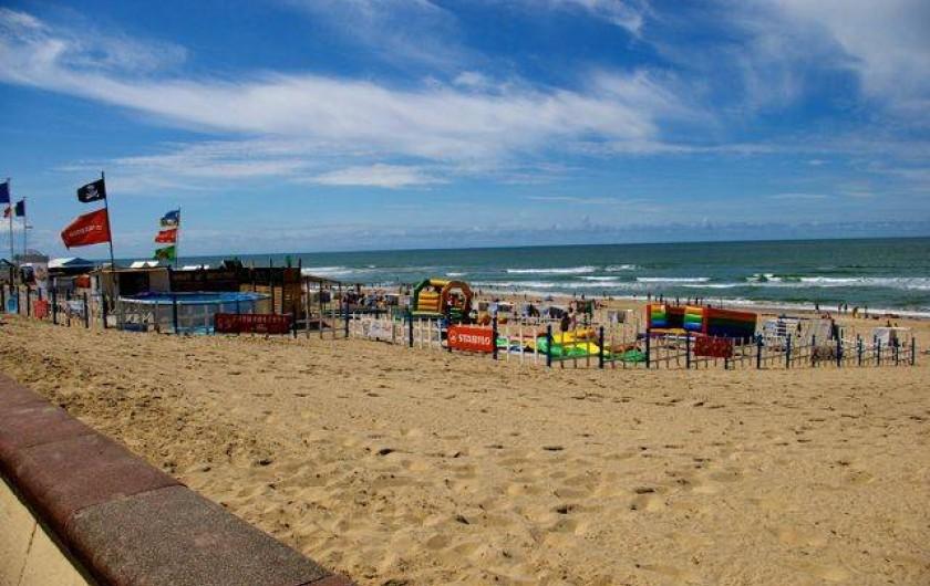 Location de vacances - Villa à Soulac-sur-Mer - Plage de Soulac-Sur-Mer avec le club enfants