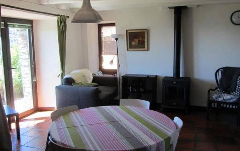 Location de vacances - Gîte à Bonnevaux - Gîte La Clède
