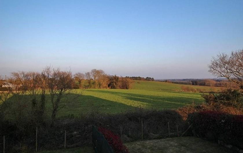 Location de vacances - Maison - Villa à Nivillac - Vue de l'arrière des gites.