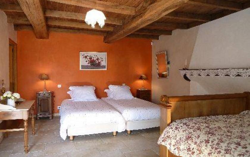 Location de vacances - Gîte à Château-Guibert - Chambre Maria