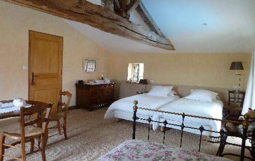 Location de vacances - Gîte à Château-Guibert - Chambre Rose