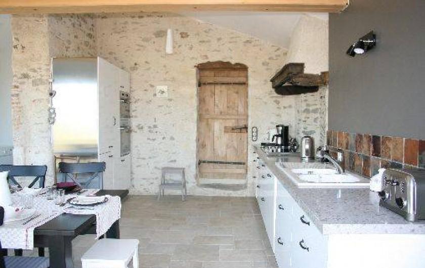 Location de vacances - Gîte à Château-Guibert - Cuisine indépendante