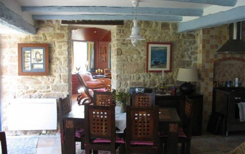 Location de vacances - Maison - Villa à Audierne - Salle a manger