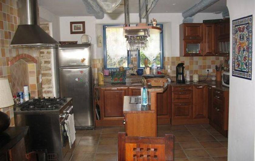 Location de vacances - Maison - Villa à Audierne - La cuisine ouverte sur salle a manger
