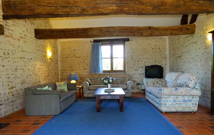 Location de vacances - Maison - Villa à Poisson - Le Salon