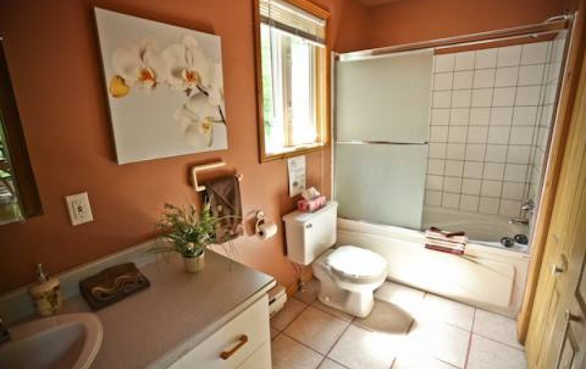 Location de vacances - Chalet à Shawinigan - 4500-Salle de bain
