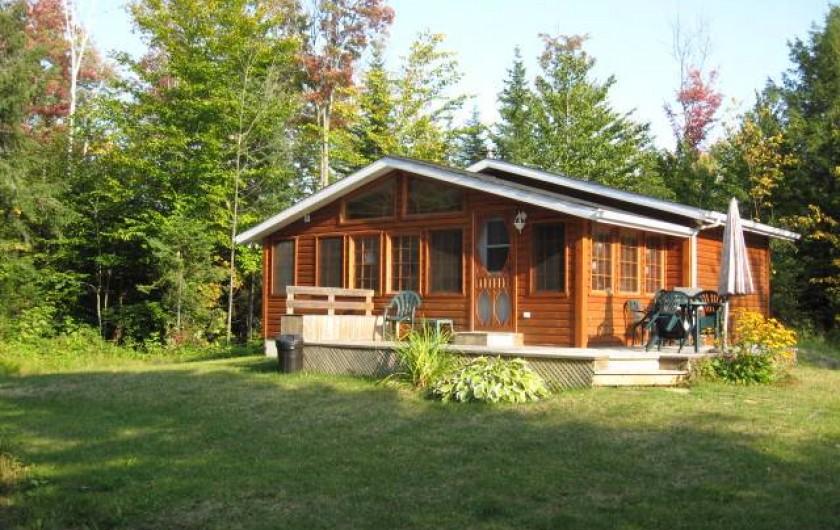 Location de vacances - Chalet à Shawinigan - 4400-chalet 1 chambre