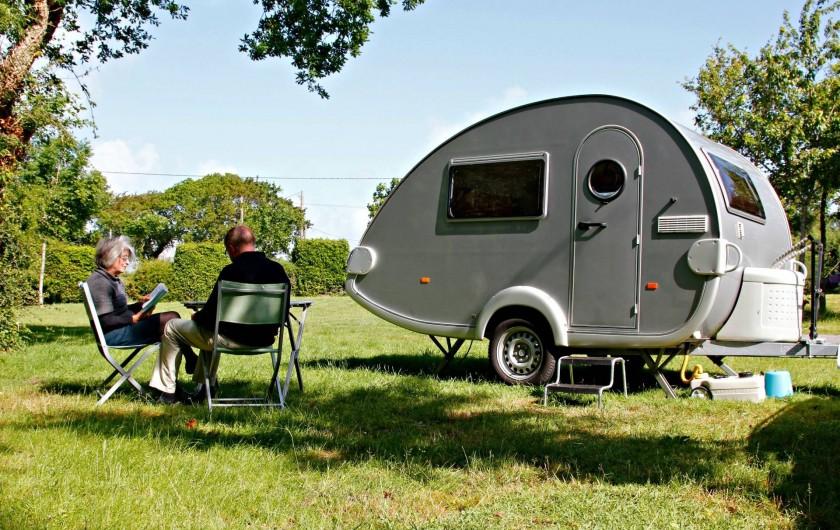 Location de vacances - Camping à Sarzeau - Calme et Détente au camping de Lann Hoedic