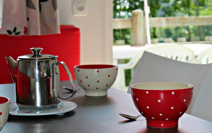 Location de vacances - Camping à Sarzeau - Détente et confort en mobile home Bretagne