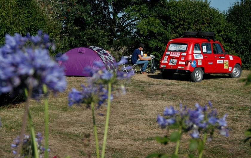 Location de vacances - Camping à Sarzeau - campedansmonjardin