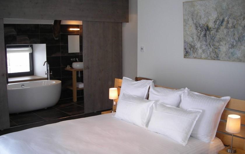 Location de vacances - Chambre d'hôtes à Nasbinals - Chambre Déroc