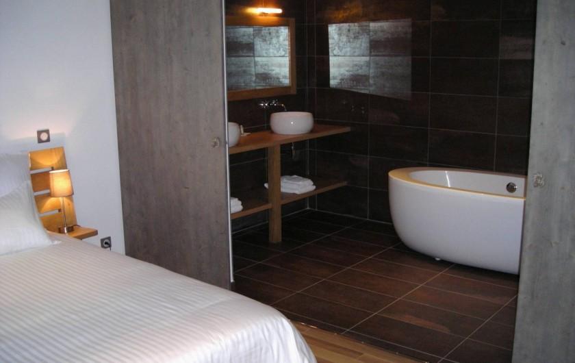 Location de vacances - Chambre d'hôtes à Nasbinals - Chambre Gambaïse