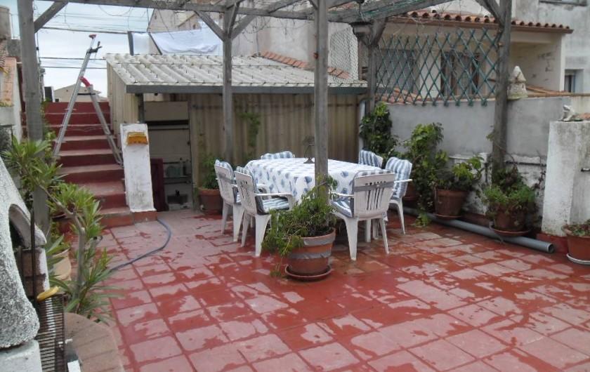 Location de vacances - Appartement à L'Estartit - 1ère VUE TERRASSE