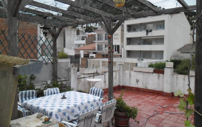 Location de vacances - Appartement à L'Estartit - AUTRE VUE DE LA TERRASSE
