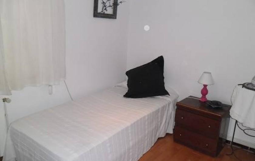 Location de vacances - Appartement à L'Estartit - CHAMBRE INDIVIDUEL + LIT BEBE, AVEC VENTILATEUR AU PLAFOND