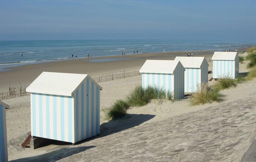 Location de vacances - Appartement à Hardelot-Plage - plage d'Hardelot