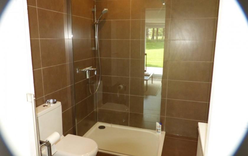 Location de vacances - Appartement à Hardelot-Plage - salle de douche