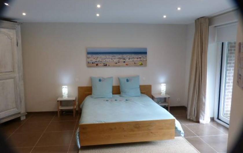 Location de vacances - Appartement à Hardelot-Plage - chambre