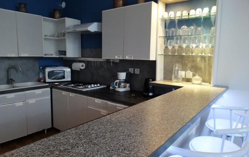 Location de vacances - Appartement à Saumur - cuisine aménagée