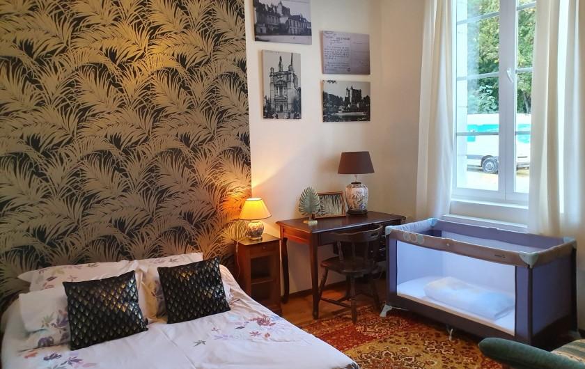 Location de vacances - Appartement à Saumur - chambre 2 avec 1 lit double