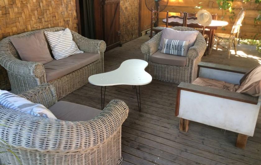 Location de vacances - Maison - Villa à Saint-Gilles les Bains - Salon