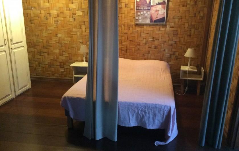 Location de vacances - Maison - Villa à Saint-Gilles les Bains - Coin chambre 3 en bas
