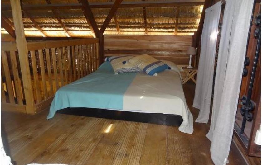 Location de vacances - Maison - Villa à Saint-Gilles les Bains - Coin chambre 2 à l'étage
