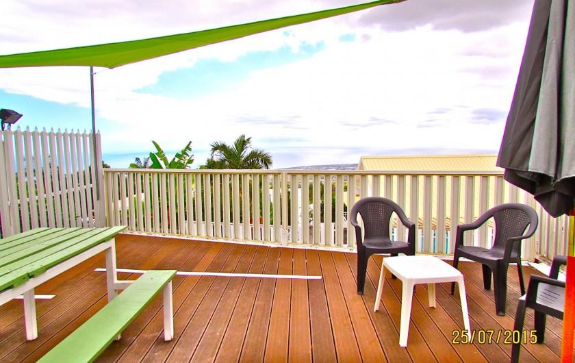 Location de vacances - Villa à Bois De Nèfles - Terrasse BBQ
