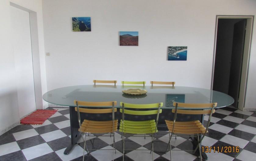 Location de vacances - Villa à Bois De Nèfles - Salle à manger