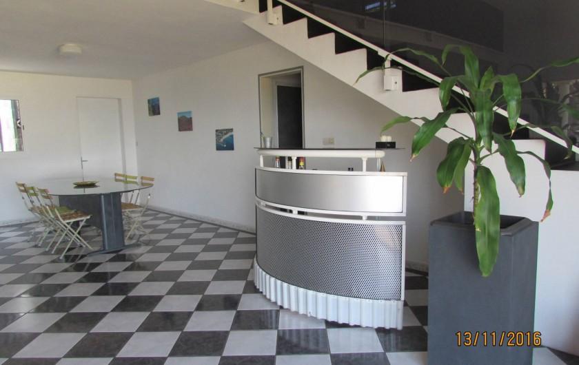 Location de vacances - Villa à Bois De Nèfles - Bar / salle à manger