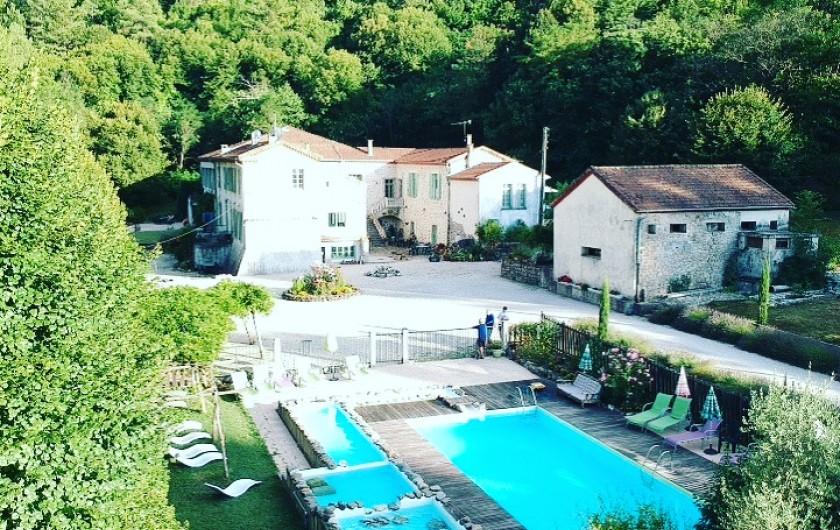 Location de vacances - Gîte à Branoux-les-Taillades - Le Château du Fraissinet