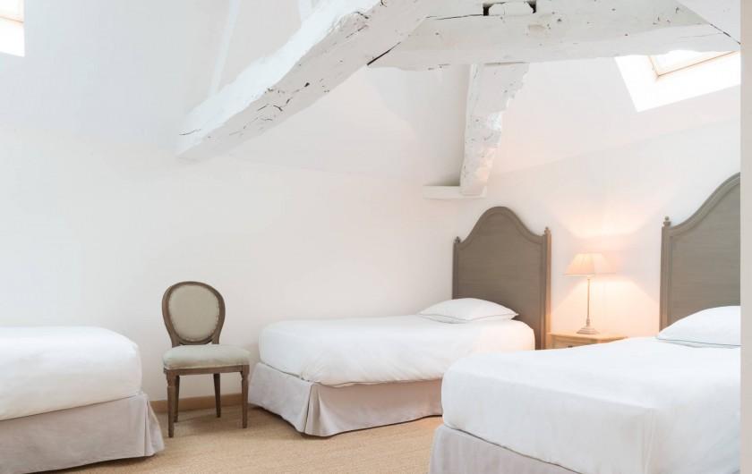 Location de vacances - Chambre d'hôtes à Pierreclos - Suite Joseph chambre 2