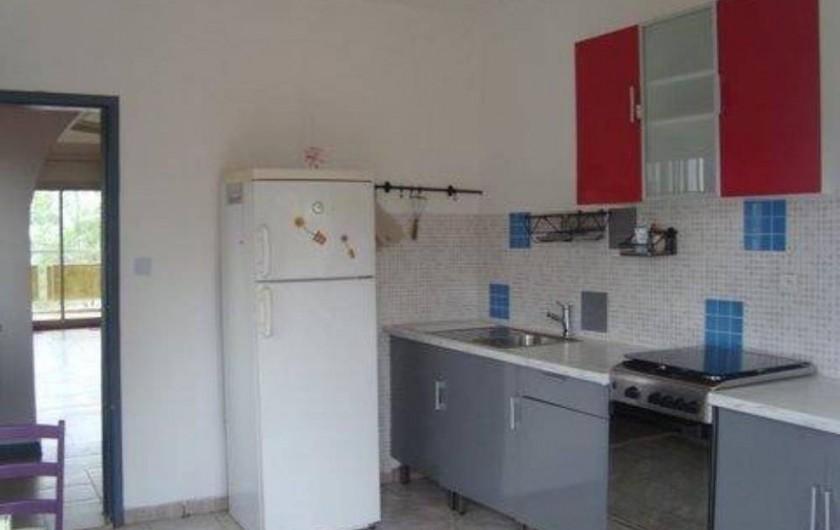 Location de vacances - Appartement à Yaoundé - Cuisine Appartement Orchidée 2 Chambres